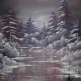 Collin A Clarke - Snow Moonlight
