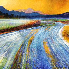 R christopher Vest - Snow Road Toward The Park