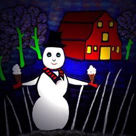 Latha Gokuldas Panicker - Snowman