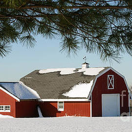 Snowy Barn-0087