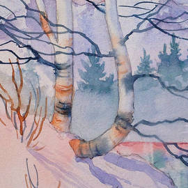 Teresa Ascone - Snowy Birch