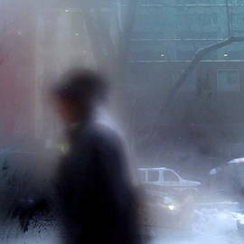 Miriam Danar - Snowy Day - New York City Street Scene
