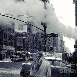 Miriam Danar - Snowy Day with New York City Steam