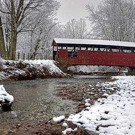 Gene Walls - Snowy Muncy Creek Crossing