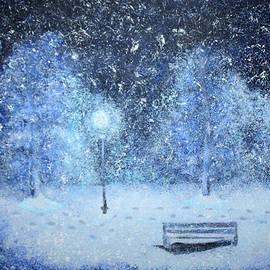 Osama Afram - Snowy Park