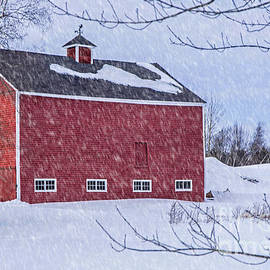 Alana Ranney - Snowy Red Barn