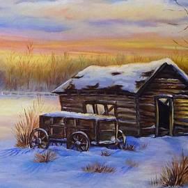Laurine Baumgart - Snowy shelter