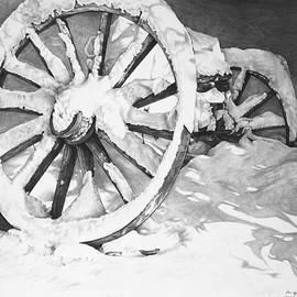 Aaron Spong - Snowy Wheel