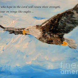 Amanda Dinan - Soar on wings like eagles...