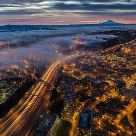 Mike Reid - SODO Sunrise Seattle Morning
