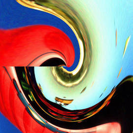 Peter Art Gallery  - Paintings Photos Posters Prints - Soft Reflection 1 - Abstract Modern Art