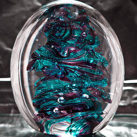 David Patterson - Solid Glass Sculpture RB3