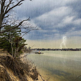 Brian Wallace - Storm Brewing Over Rock Creek