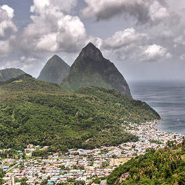 Gary Slawsky - Soufriere St Lucia and Pitons