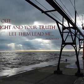 David T Wilkinson - South Haven Light Rays - Psalm 43