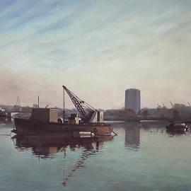 Martin Davey - Southampton Northam river Itchen