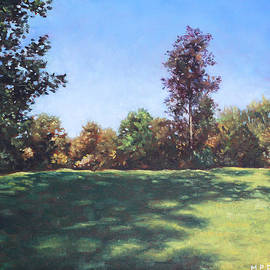 Martin Davey - Southampton Palmerston Park Autumn sun