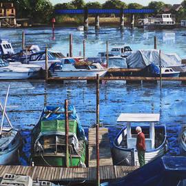 Martin Davey - Southampton River Itchen from Cobden Bridge