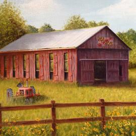 Richard Ginnett - Southern Maryland Tobacco Barn