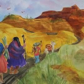 Ellen Levinson - Southwest-Desert Travelers-Native American