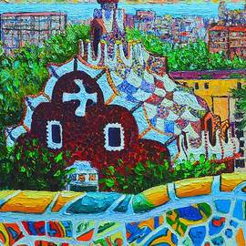 Ana Maria Edulescu - Spain - Barcelona View From Gaudi Park