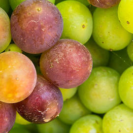 Spanish Grapes Macro