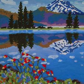 Dorothy Jenson - Sparks Lake Wildflowers