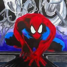 Justin Moore - Spider-Man Enhanced Watercolor