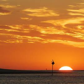 David Stone - Spindle Sunrise Ipswich Bay