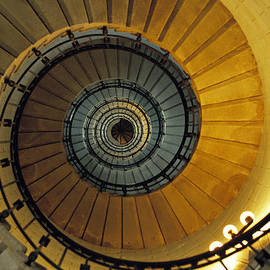 David Davies - Spiral staircase in Lighthouse France