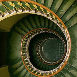 Jaroslaw Blaminsky - Spiral stairs in green