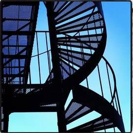 Linda Peers - #spiralstaircase