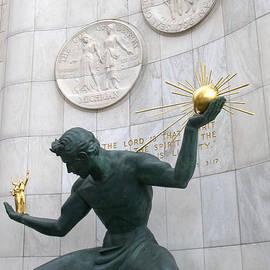 Ann Horn - Spirit of Detroit Monument