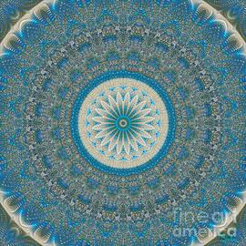 Giada Rossi - Spiritual art - Mandala of protection by RGiada