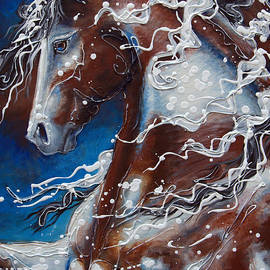Jonelle T McCoy - Splish Splashed my Paint
