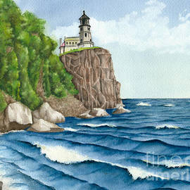 Nan Wright - Split Rock Lighthouse was a Beacon to Sailors