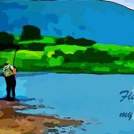John Malone - Sport Fishing Poster