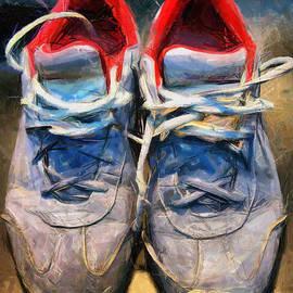 Daliana Pacuraru - Sport shoes drawing