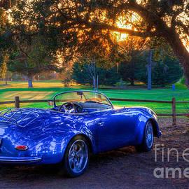 Matthew Hesser - Sports Car Golf Course Sunset