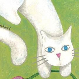 Carol Neal - Spring Cat