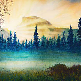 Douglas Castleman - Spring Dawn Yosemite Valley