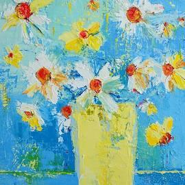 Patricia Awapara - Spring Flowers Daisies