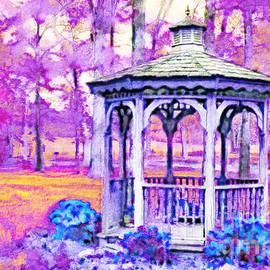 Debbie Portwood - Spring Gazebo series - Digital Paint V