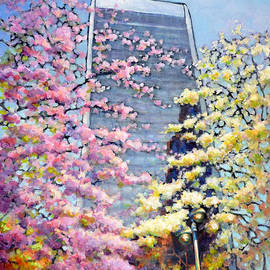 Eileen  Fong - Spring in Downtown