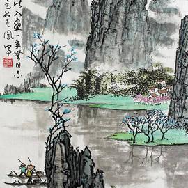 Yufeng Wang - Spring River II