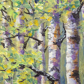 Karen Mattson - Springtime Birches
