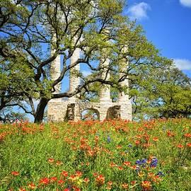 Lynn Bauer - Springtime Ruins - Vertical