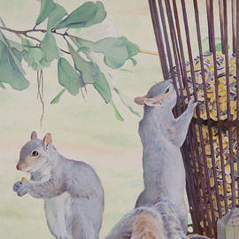 Christopher Reid - Squirrel Feeder