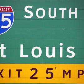 Thomas Woolworth - St Louis Exit Signage