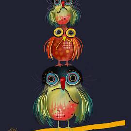 Karin Taylor - Stack of Owls